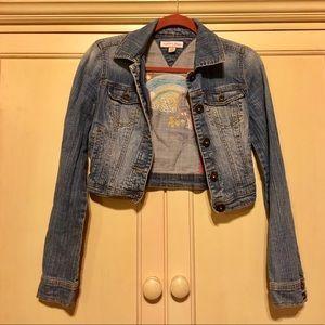 Tommy Hilfiger Denim Tommy Jeans crop jacket.